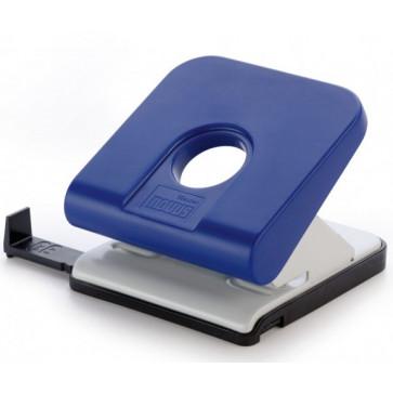 Perforator de birou, pentru maxim 25 coli, albastru, NOVUS Master