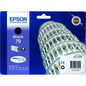Cartus, black, EPSON C13T79114010