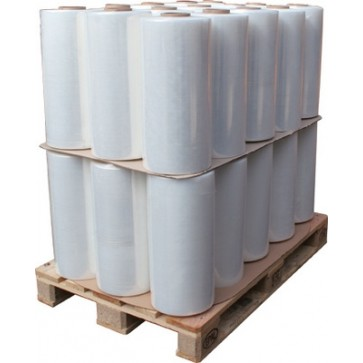 Folie stretch la palet, 46 role/palet, automat, 16.0kg, 23 mic., transparent, HIPAC K310 BASIC