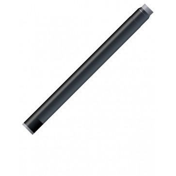 Cartuse cu cerneala (mari), negru - permanent (Intense Black), 8 bucati/cutie, WATERMAN