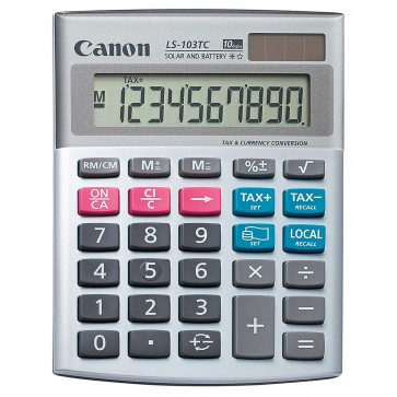 Calculator de birou, 10 digiti, CANON LS-103TC