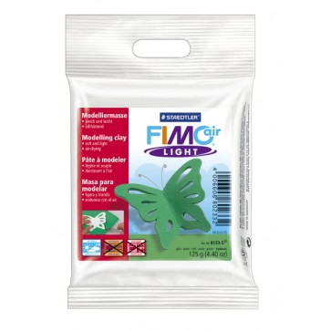 Plastilina pt. modelaj, 125gr, verde (green), STAEDTLER Fimo Air Light