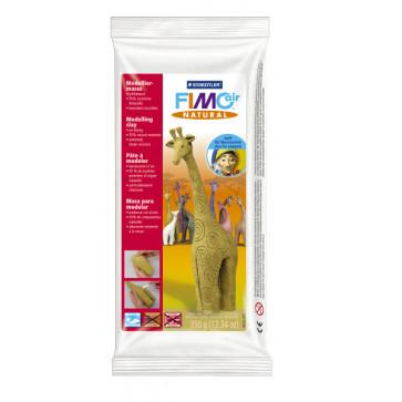 Plastilina pt. modelaj, 350gr, mustar (mustard flower), STAEDTLER Fimo Air Natural