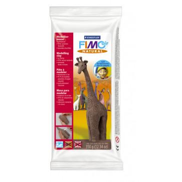Plastilina pt. modelaj, 350gr, maro (cocoa), STAEDTLER Fimo Air Natural