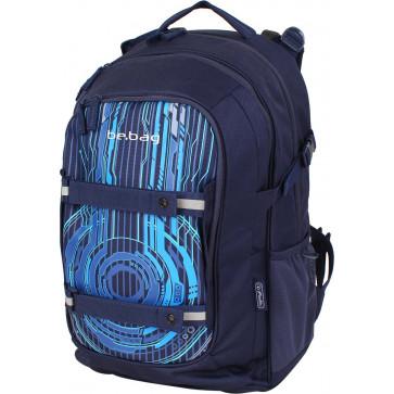 Rucsac ergonomic, HERLITZ Be.Bag Beat Spaceship
