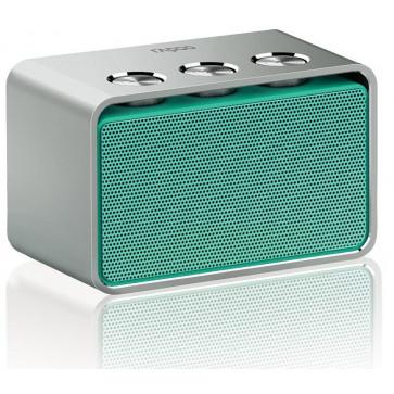 Difuzor stereo, portabil, cu bluetooth, turcoaz, RAPOO A600