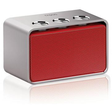 Difuzor stereo, portabil, cu bluetooth, rosu, RAPOO A600