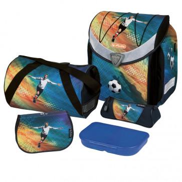 Ghiozdan ergonomic echipat, HERLITZ Flexi Plus Goal