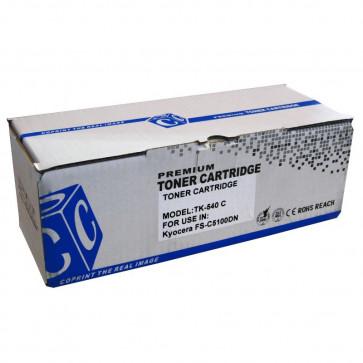 Cartus compatibil cyan KYOCERA TK-540C HYB