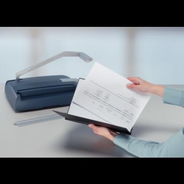 Dispozitiv pentru desfacerea documentului legat cu LEITZ impressBIND 140