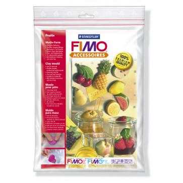 Sablon flexibil pt. modelaj, 14 figuri fructe, STAEDTLER Fimo Accessoires Fruits