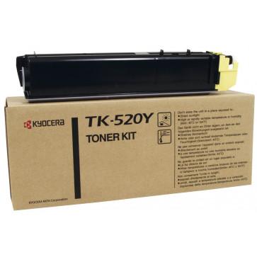 Toner, yellow, 4000 pagini, KYOCERA TK-520Y