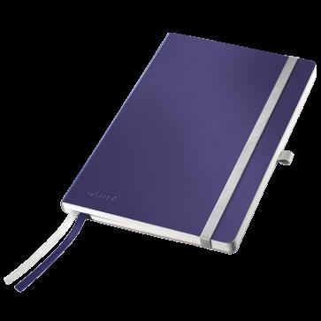 Caiet de birou, A5, matematica, coperta flexibila, albastru-violet, LEITZ Style