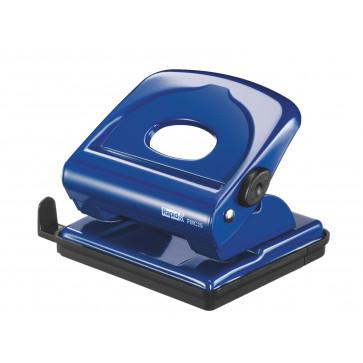 Perforator metalic de birou, pentru maxim 25 de coli, albastru, RAPID FMC25