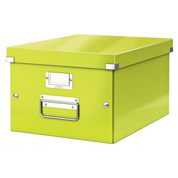 Cutie pentru arhivare, 281 x 200 x 370mm, verde, LEITZ Click & Store