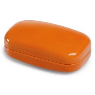 Cutie mica, din imitatie piele, portocaliu, FEDON 1919 Mignon