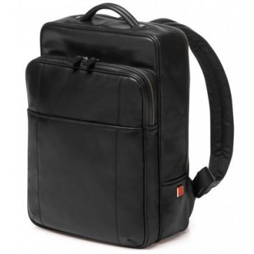 Rucsac, din piele de bovina, negru, FEDON British Backpack