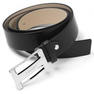 Curea neagra, din piele de bovina, FEDON Belts Cint-U10