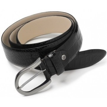 Curea neagra, din piele de bovina, FEDON Belts Cint-U14