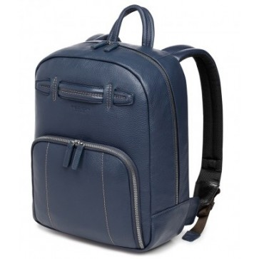 Rucsac, din piele de bovina, albastru inchis, FEDON 1919 Venezia Backpack