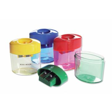 Ascutitoare dubla cu container, din plastic, KOH-I-NOOR