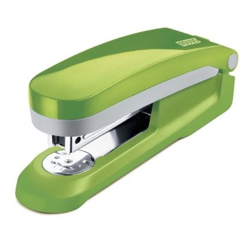 Capsator pentru maxim 25 coli, capse 24/6, verde, NOVUS E25 Fresh
