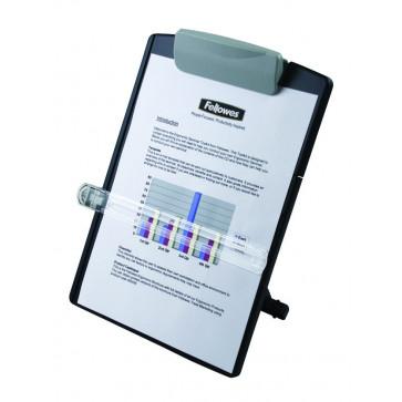Suport pentru documente, negru, FELLOWES Standard