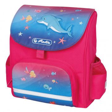 Ghiozdan ergonomic, neechipat, HERLITZ Mini SoftBag Little Dolphin