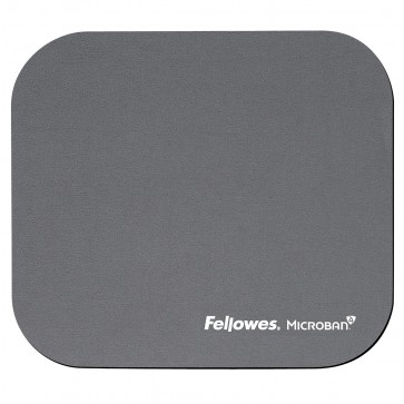 Mouse pad, gri, FELLOWES Microban