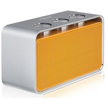 Difuzor stereo, portabil, cu bluetooth, portocaliu, RAPOO A600