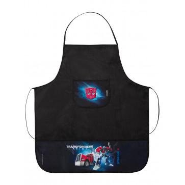 Sort protectie, 65 x 56 x 0.5cm, cu 3 buzunare, HERLITZ Transformers Optimus Prime Black