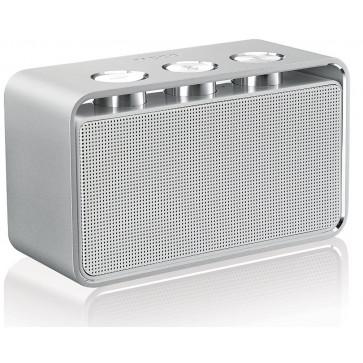 Difuzor stereo, portabil, cu bluetooth, alb, RAPOO A600