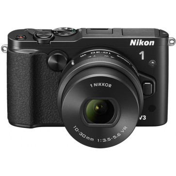 Aparat foto mirrorless NIKON 1 V3 Kit 10-30mm VR PD-Zoom, black