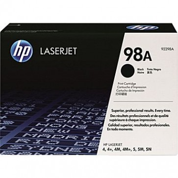 Toner, black, nr. 98A, HP 92298A