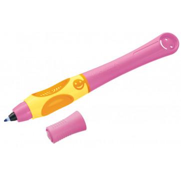 Roller, pentru dreptaci, roz, 2 rezerve/blister, PELIKAN Griffix
