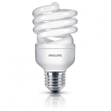 Bec economic 20W (90 W), Soclu E27, Alb cald, PHILIPS Twister