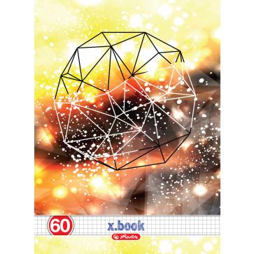 Caiet A4, matematica, 60 file,, HERLITZ Cosmos