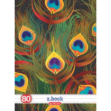 Caiet A4, dictando, 80 file, HERLITZ Tropical