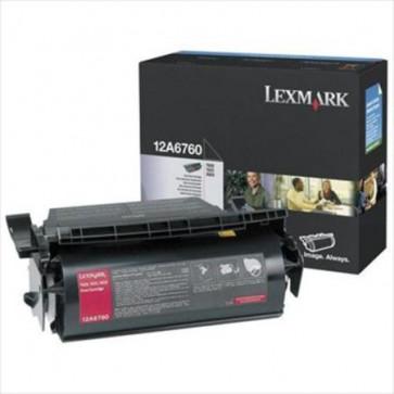 Toner, black, LEXMARK 12A6760