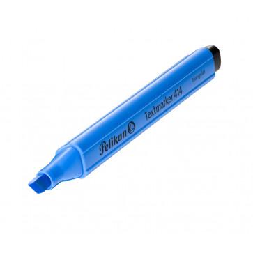 Textmarker, albastru, PELIKAN 414