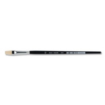 Pensula cu varf tesit, pentru ulei, nr. 12, KOH-I-NOOR
