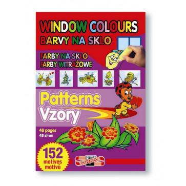 Carte pentru colorat pe sticla, desene/sabloane, 152 desene, KOH-I-NOOR