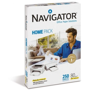 Hartie A4, 80 g/mp, 250 coli/top, NAVIGATOR HOME PACK