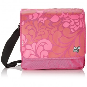 Geanta de umar, tip messenger, HERLITZ Be.bag Ornament Pink