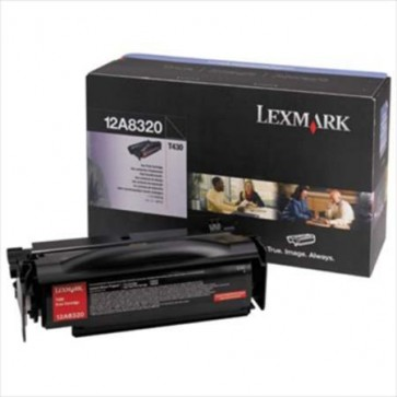 Toner, black, CTG T430, LEXMARK 12A8320
