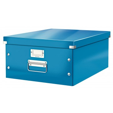Cutie pentru arhivare, 369 x 200 x 484mm, albastru, LEITZ Click & Store
