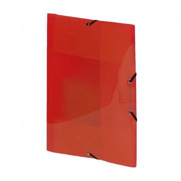 Mapa din plastic, rosu, cu elastic, VIQUEL