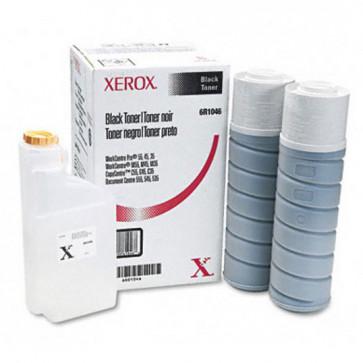 Toner, black, 2 buc+waste bottle/cutie, XEROX 006R01046