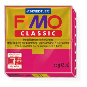 Plastilina pt. modelaj, 56gr, rosu (magenta), STAEDTLER Fimo Classic