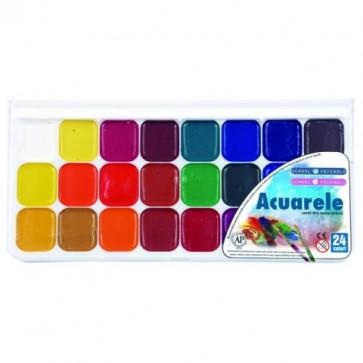 Acuarele, 24 culori/set, PIGNA ColourKids